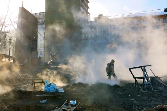 Front line Kiev
